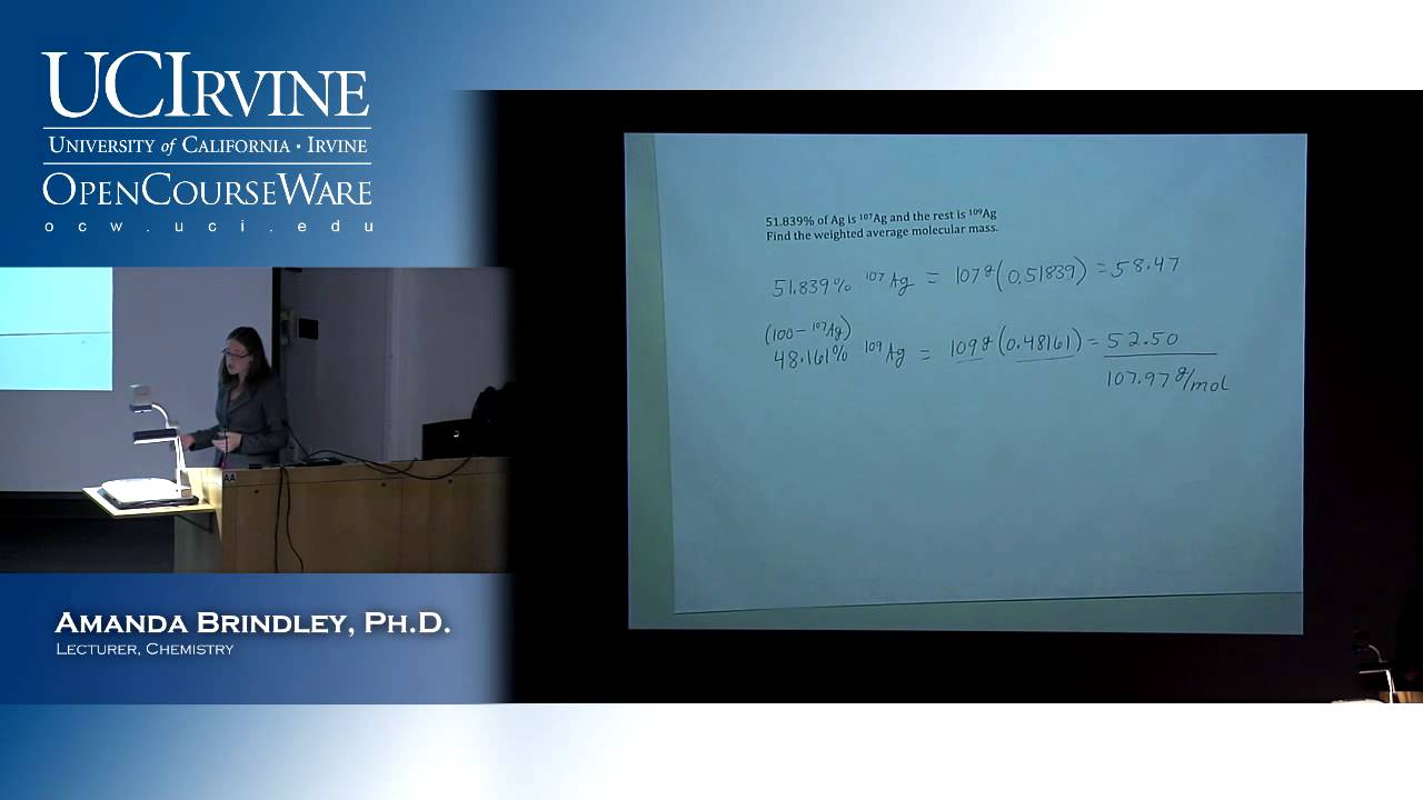 General Chemistry 1A  Lecture 01  Introduction to General Chemistry