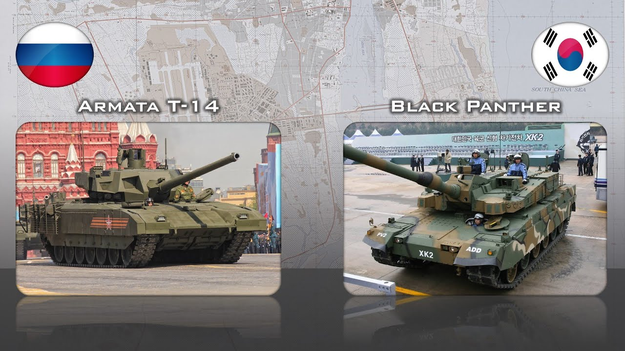 t 14 armata russia vs k2 black panther south korea. Black Bedroom Furniture Sets. Home Design Ideas