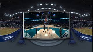 Wade to LeBron in VR | All-Star 2019