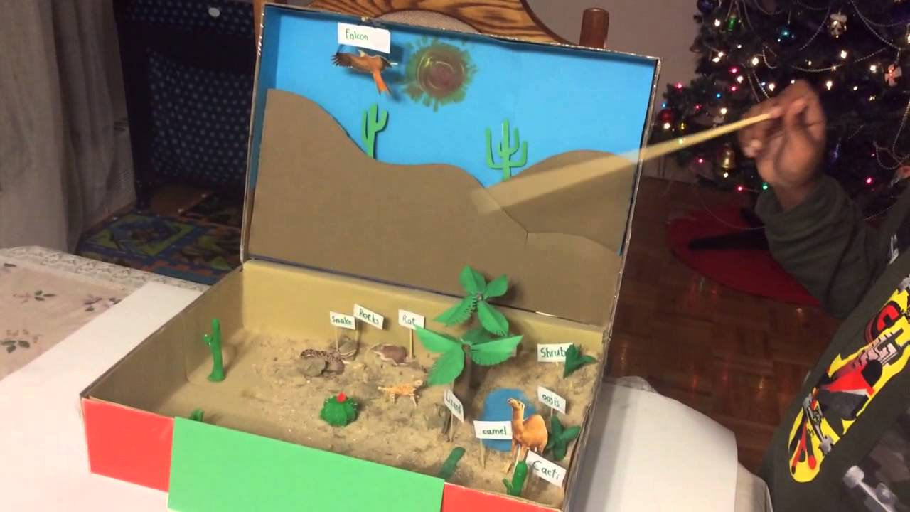 Desert Diorama - YouTube