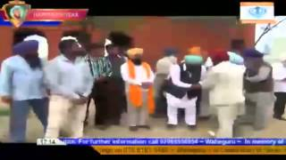 BSP, Vishal Shobha Yatra Of Shri Guru Ravidas Maharaj Ji in Patiala   13 March 2013 sikh channel