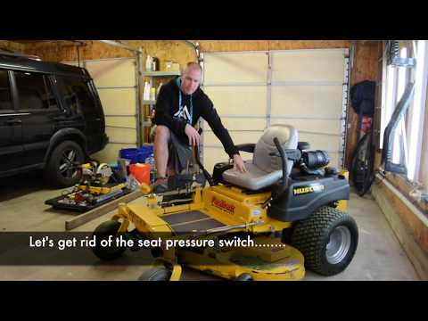 How To Bypass Your Mower Seat Switch - Zero Turn - YouTube