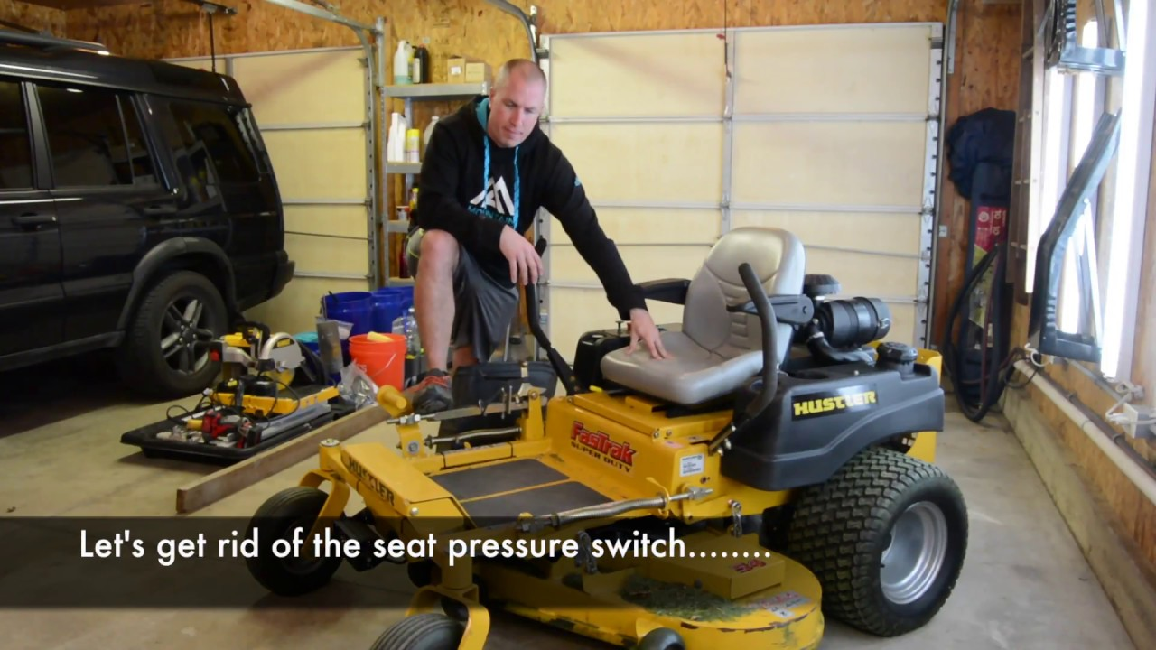 how to bypass your mower seat switch zero turn youtube ferris mower seat switch wiring diagram [ 1280 x 720 Pixel ]