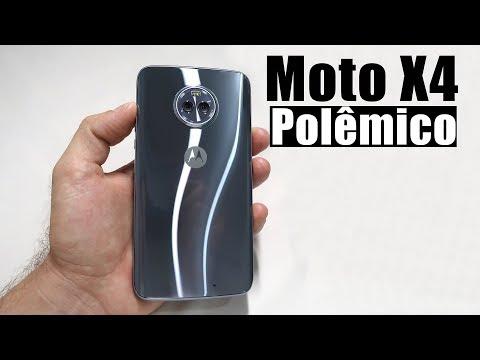 MOTO X4 - Unboxing desse LINDO SMARTPHONE da Motorola