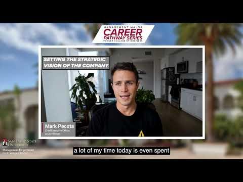 Download Management Major Career Pathways Series: Mark Pecota (LaunchBoom)