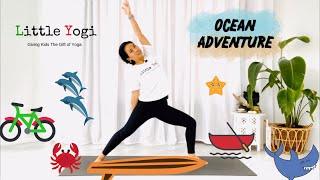 Kids Yoga - Namaste at Home - Beach Adventure