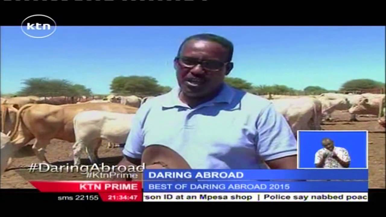 Best of Daring Abroad 2015 by Alex Chamwada : KTN News