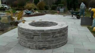 How To Build And Incorporate A Stone Fire Pit In Your Back Yard