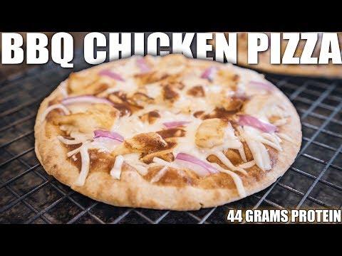 bbq-chicken-pita-pizza-|-high-protein-low-carb-recipe
