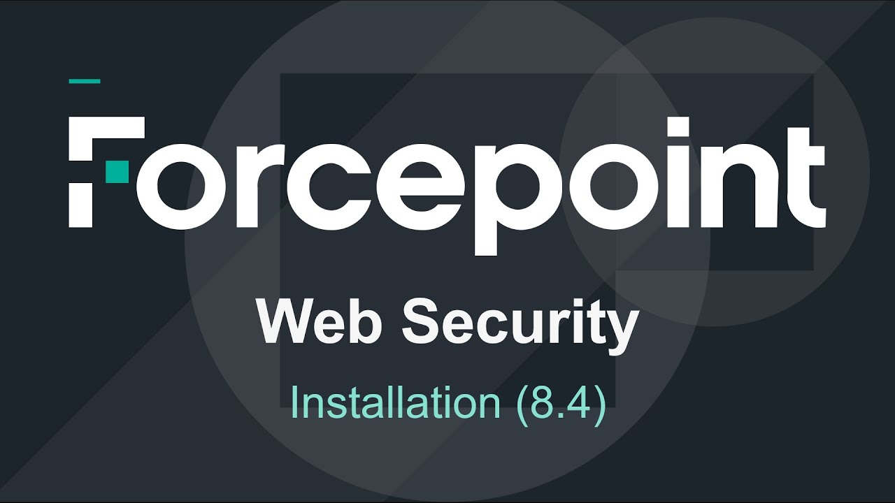 Forcepoint Web Security 84
