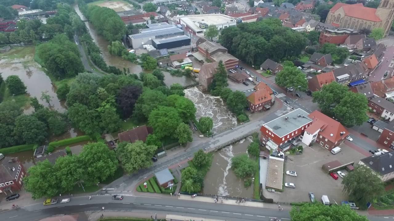 Hochwasser Stadtlohn 2 Youtube