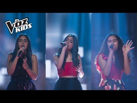 Diana K, Camicajiao y Natalia cantan Pero me Acuerdo de Ti - Batallas | La Voz Kids Colombia 2018