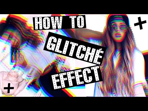 HOW TO - Glitch effect on Instastories!