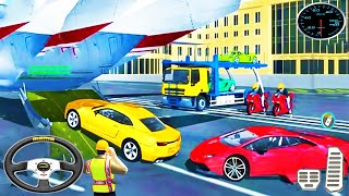3D Cargo Airplane Car Transporter Driver - Euro Truck Driving Simulator - Android GamePlay