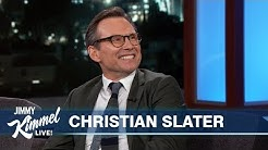 Christian Slater on New Baby, Rami Malek & Mr. Robot Ending