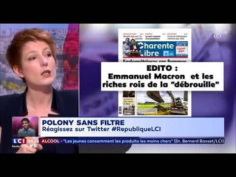 Mardi 17 avril  la revue de presse de Natacha Polony   LCI