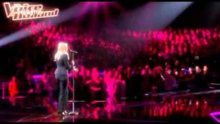 Leonie Meijer in The Voice of Holland 14-01-2011