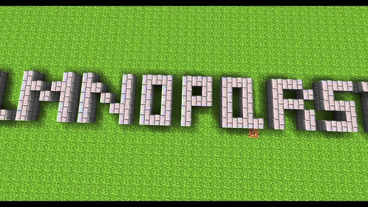 MineCraft Alphabet - YouTube