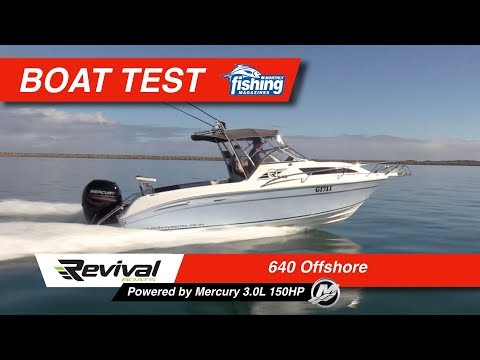 Tested | Revival 640 Offshore with Mercury 150HP 3.0L 4-stroke