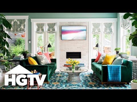 HGTV Urban Oasis 2018 - Tour the Great Room