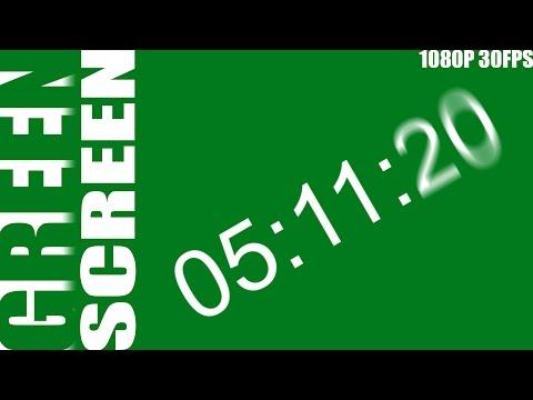 Green Screen - Stop Watch - 20 Minutes