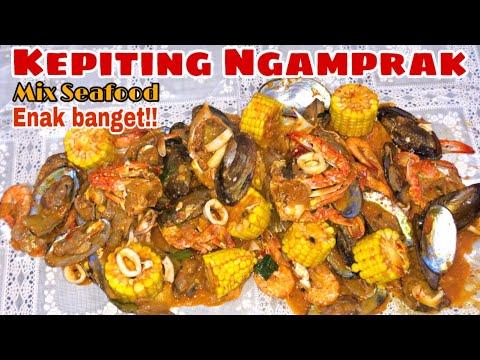 Resep Seafood Ngamprak Gampang Dan Enak Youtube