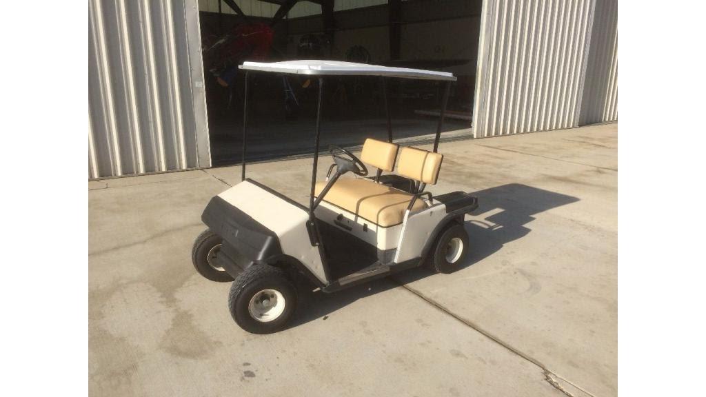 1989 EZ GO Marathon Golf Cart  YouTube