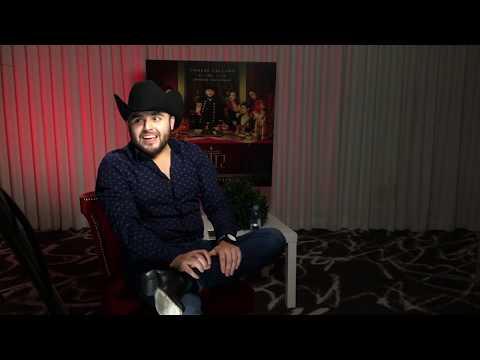 """Gerardo Ortiz hablando un poco sobre su álbum """"Comeré Callado"""" 2017"""