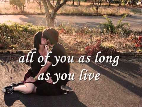 ALL OF YOU - Julio Iglesias and Diana Ross (Lyrics)