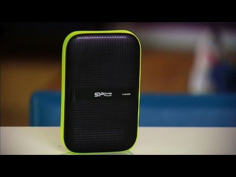 The Armor A60 portable drive can take quite a beating.