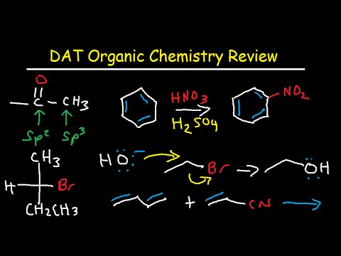 DAT Organic Chemistry Study Guide Exam Course Review