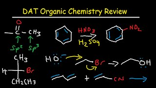 DAT Organic Chemistry Study Guide Exam Course Review Prep
