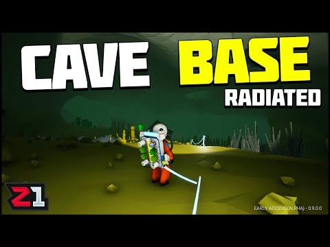 Radiated Cave Exploration and New Base Location! Astroneer Update 9 E9 | Z1 Gaming