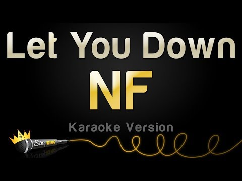 NF - Let You Down (Karaoke Version)