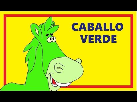 CABALLO VERDE  Canciones infantiles del DVD Cantando en Amapola