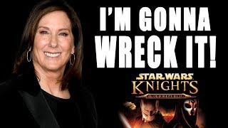 KATHLEEN KENNEDY TO TAKE ON  KNIGHTS OF THE OLD REPUBLIC PROJECT!