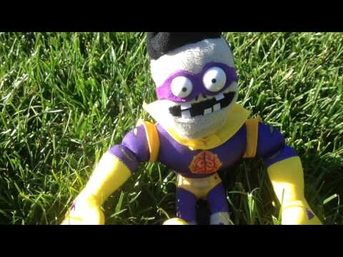 Plants vs. Zombies Plush: Four Bosses at the Gallop!