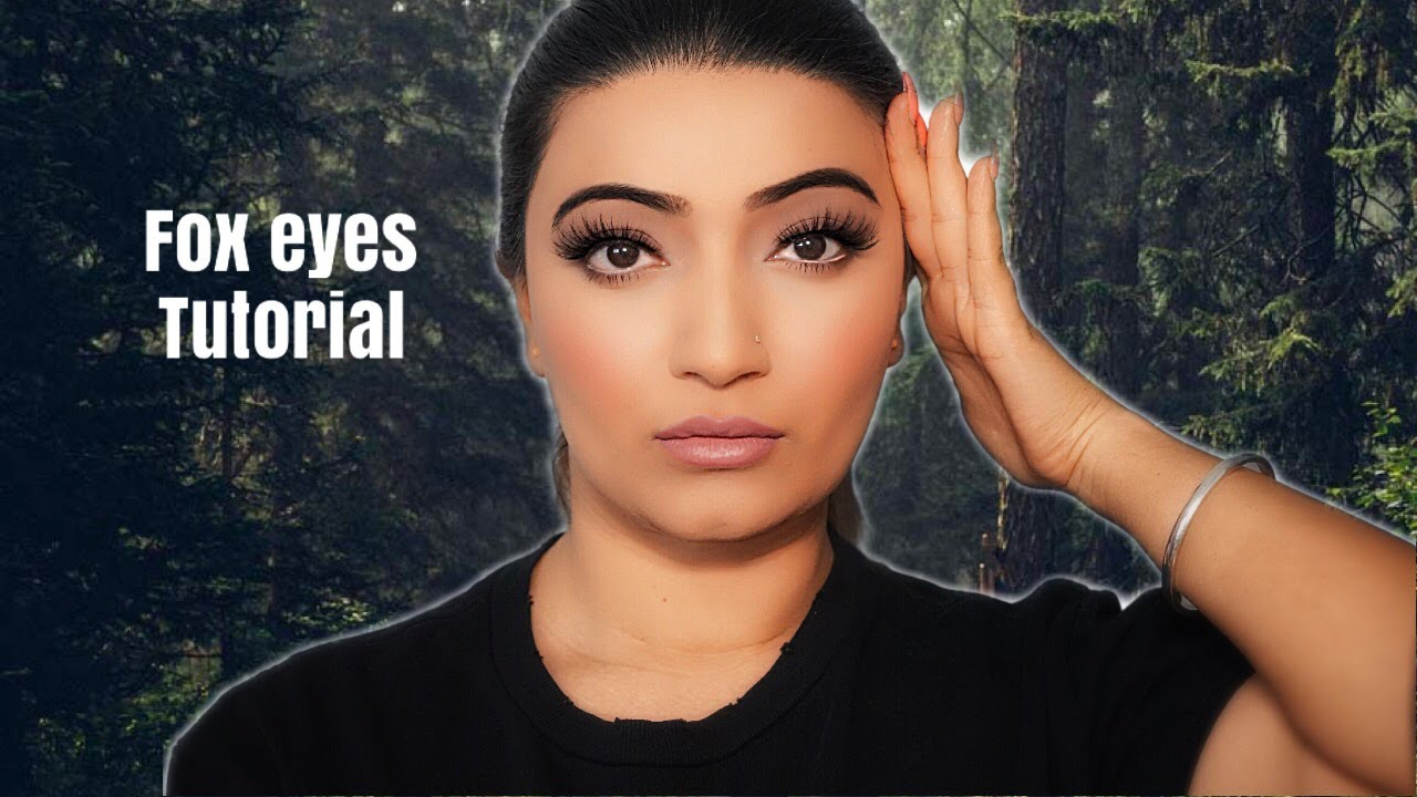 Fox Eyes Make up Tutorial *Especially for hooded eyes*