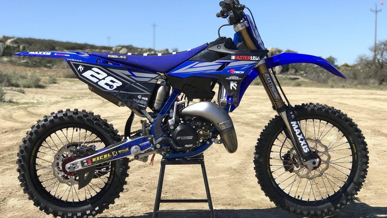 Faster USA Project Yamaha YZ125 2 Stroke build - Dirt Bike Magazine