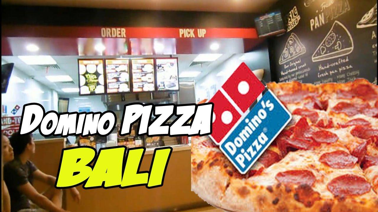 Nyobain Domino Pizza Di Bali Menu Domino Pizza Youtube