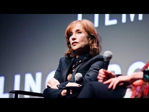 Isabelle Huppert and Serge Bozon  'Mrs. Hyde' Q&A  NYFF55