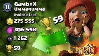 """Clash of Clans - """"HIGHEST Trophies Available"""" Epic High Trophy Raids! Proof + Replays!"""