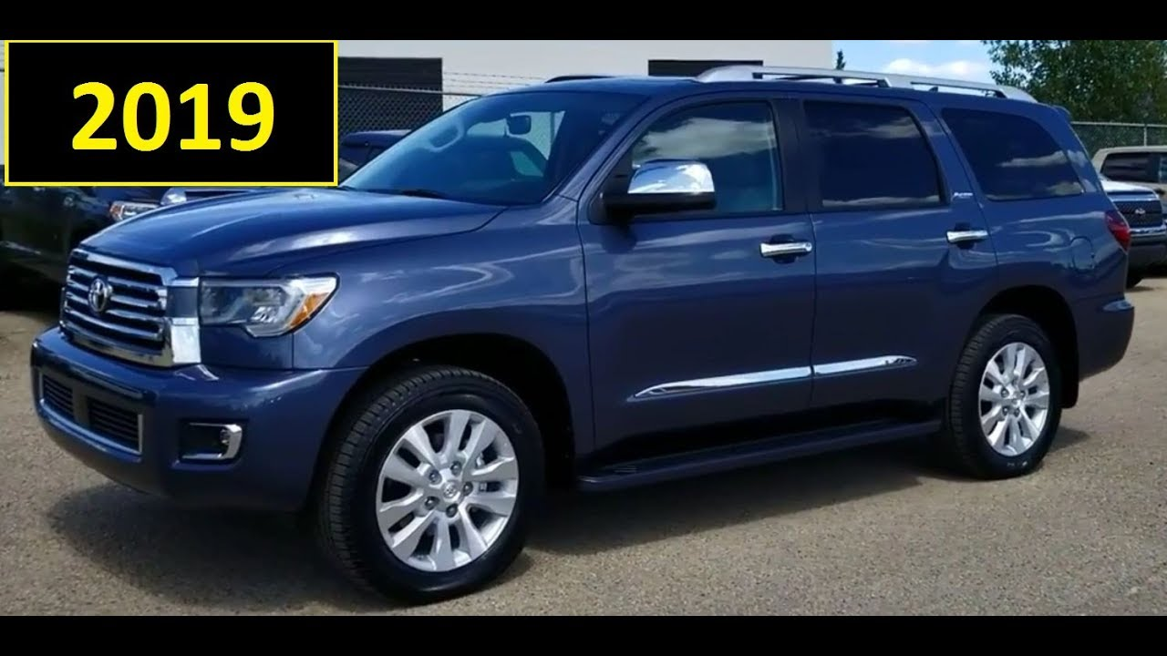 2019 Toyota Sequoia Platinum Full Feature Review And First Look
