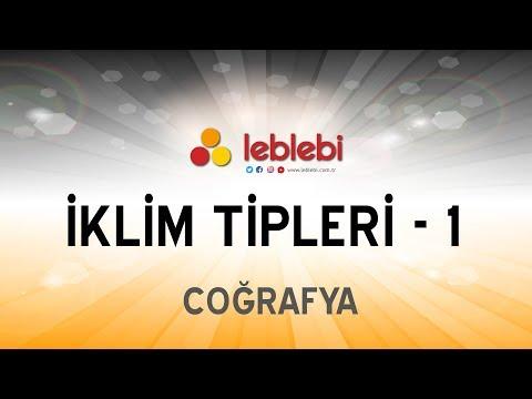 COĞRAFYA / İKLİM TİPLERİ - 1