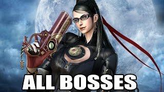Bayonetta - All Bosses (With Cutscenes) HD