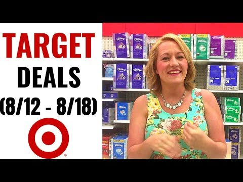 TARGET Couponing Video (8/12-8/18)...
