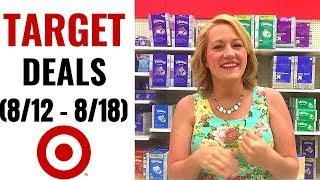 TARGET Couponing Video (8/12-8/18) SPECTACULAR Week of HOT Deals & HUGE Savings!