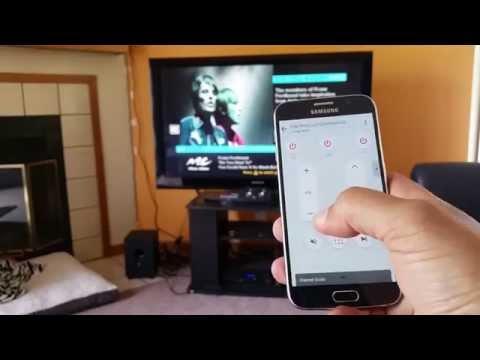 Samsung Galaxy S6 - IR Blaster Remote Control Demo