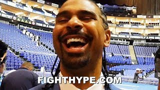 """DAVID HAYE LAUGHS AT TYSON FURY """"KISS AND MAKE UP"""" MOMENT; SAYS FURY SHOULD FIGHT DILLIAN WHYTE NEXT"""