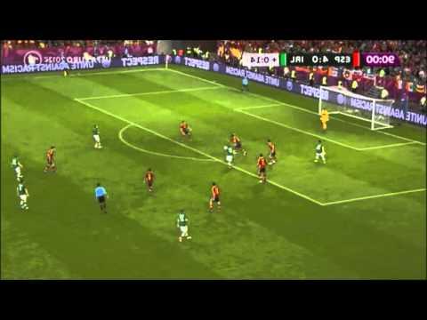 Irish Fans singing  EURO 2012 Spain - Ireland